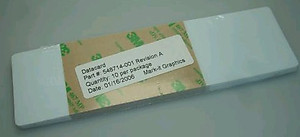 548714-001 Datacard Cleaning Cards for Transport Rollers