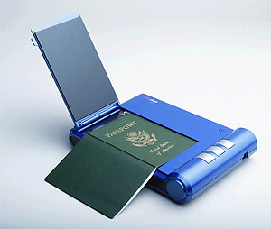 HID EL-CSS-1000 ScanShell 1000 B Passport / Driver's License / Business Card Scanner