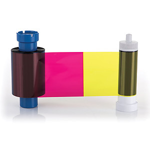 Magicard MA450YMCKO-half Half Panel Color Ribbon