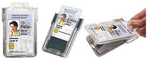 IDSH Secure RF Shielding Badgeholder Classic for one card