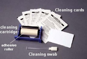 105909-169 Zebra Premier cleaning kit (25 swabs,50 cleaning cards) for all printers