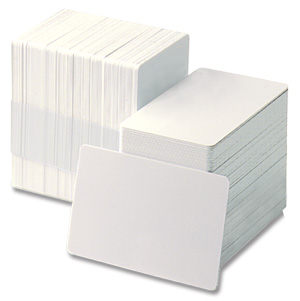 Fargo 81754 Ultracard PVC cards, 30 mil, CR-80 (500/pack)