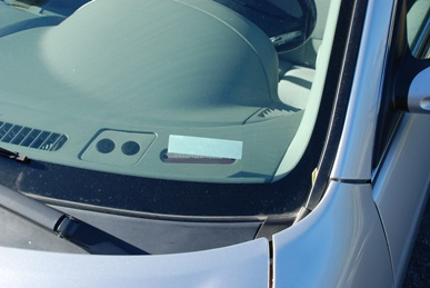 AWID WS-UHF-0-0 Windshield Adhesive Tag for the LR-2000, 2200 & 3000 reader