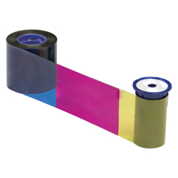534000-009 Datacard YMCKK Color Ribbon & Cleaning Kit - 500 prints
