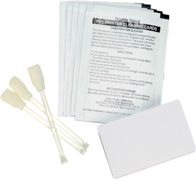 105999-400 Zebra cleaning kit for P100i, 4 sets (print engine cleaning card and printhead swab)