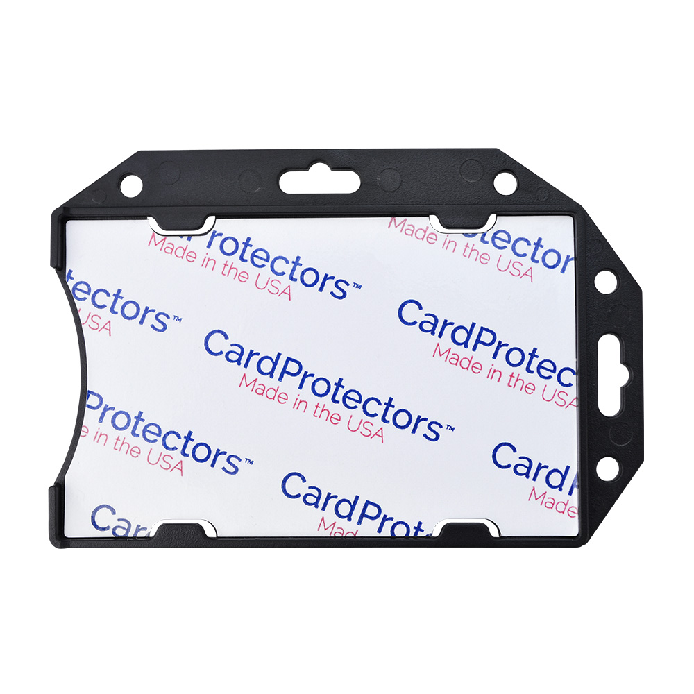CardProtectors™ Rigid RFID Shielded 1-Card Holder