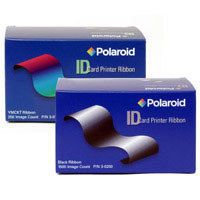 3-0202 Polaroid Dark Blue Mono Ribbon - 1500 Images - P3000, P3000E, P4000 & P4000E