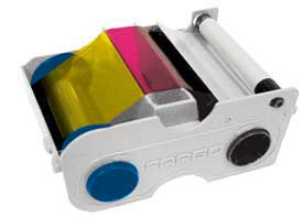 Fargo 44230 YMCKO Color Ribbon Kit - 250 Images - DTC400