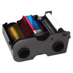 Fargo 44280 Color Ribbon & Refillable Cartridge - YMCKO - 250 prints