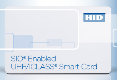 HID 601X SIO Enabled UHF/iCLASS Card