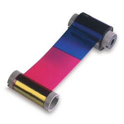 Fargo 86200 Color Ribbon - YMCKO - 500 Images