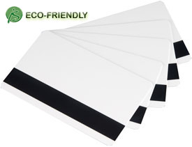 Plus-Card Bio LoCo mag 30 mil CR-80 biodegradable card, 500/pack