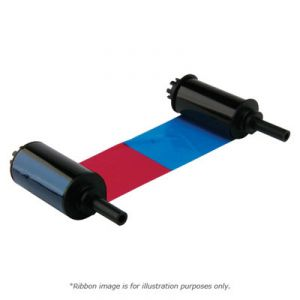 Nisca NGYMCK Color Ribbon for PR-C201 printer - YMCK - 500 prints