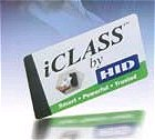 HID 2001 iCLASS Smart Card, 16Kbit, 2 application areas