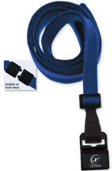 Lanyard, flat braid, break-away with anti-twist design, 5/8