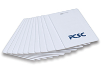 PCSC PC-73 AWID Clamshell card , P10004 37 bit format