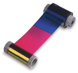 806124-102 Datacard YMCK Ribbon, 165 cards